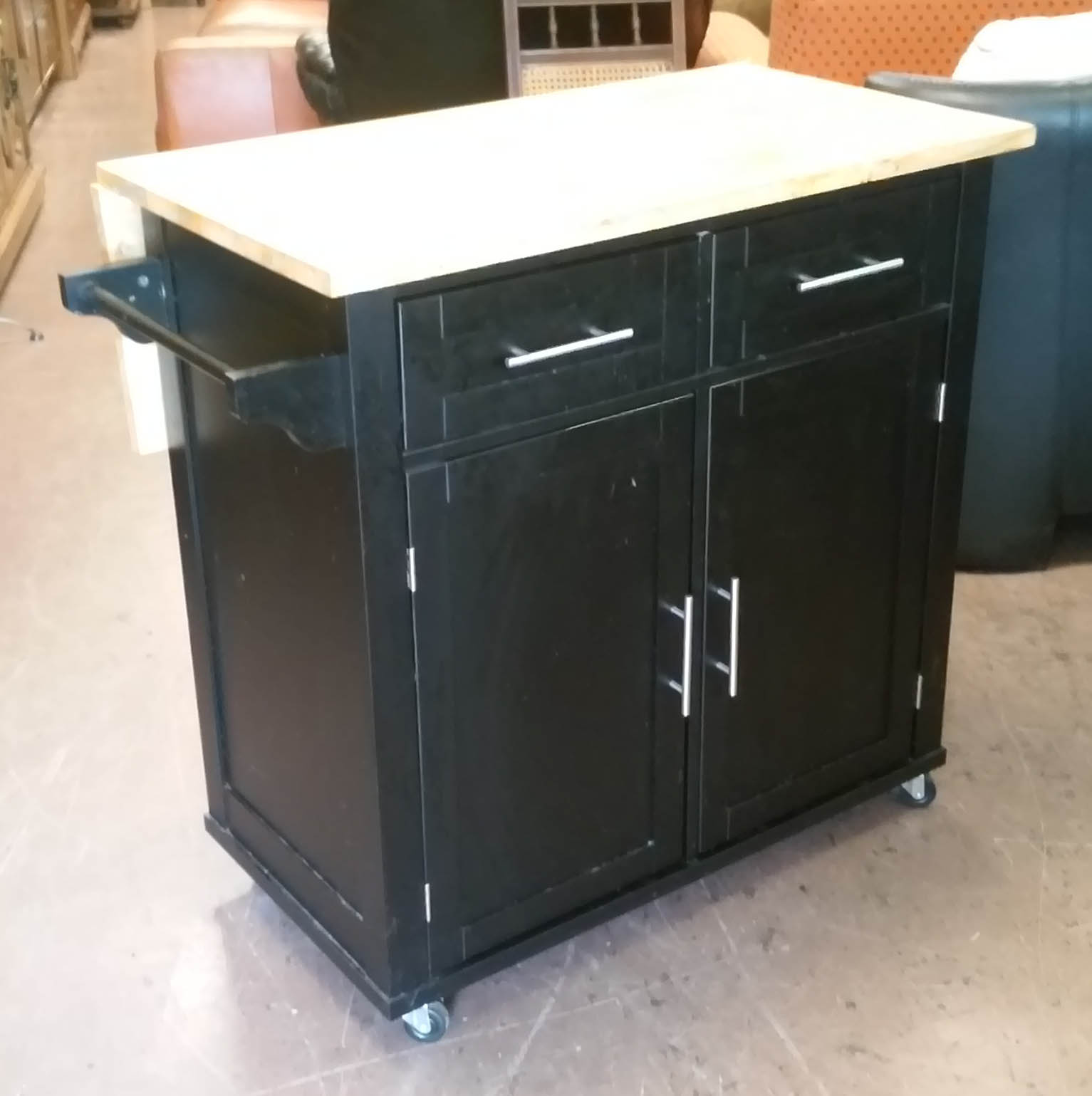 Uhuru Furniture Collectibles Sold Kitchen Island On
