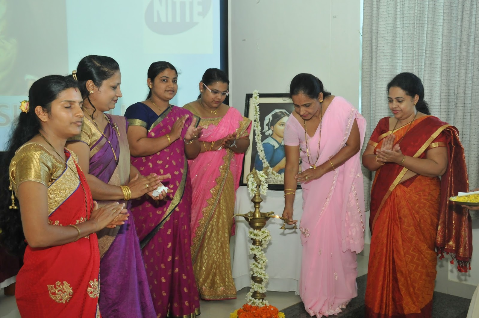 Lamp lighting ceremony 2015 - NUINS | Nitte for Lamp Lighting Ceremony  192sfw