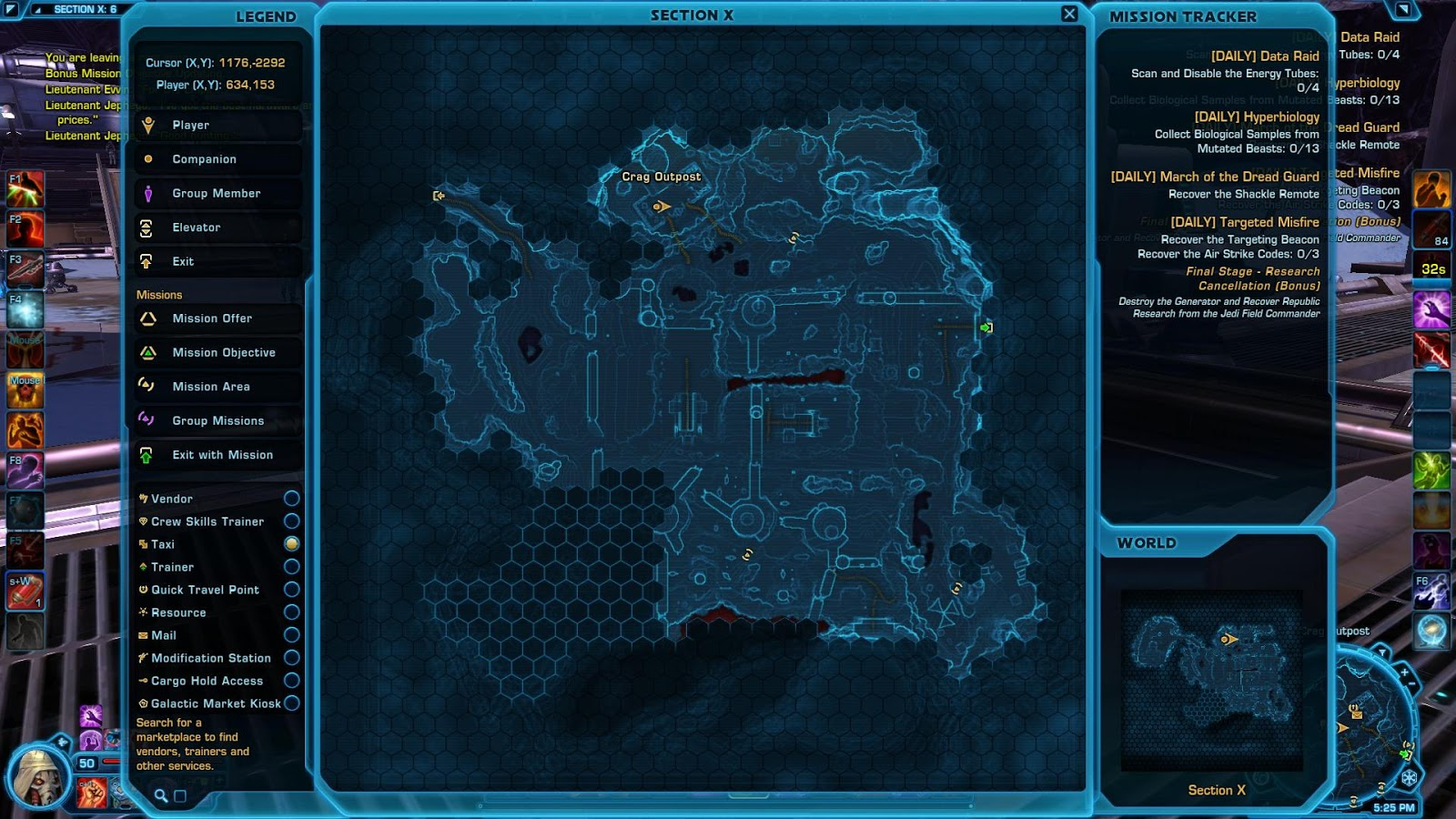 swtor the black hole map - photo #3
