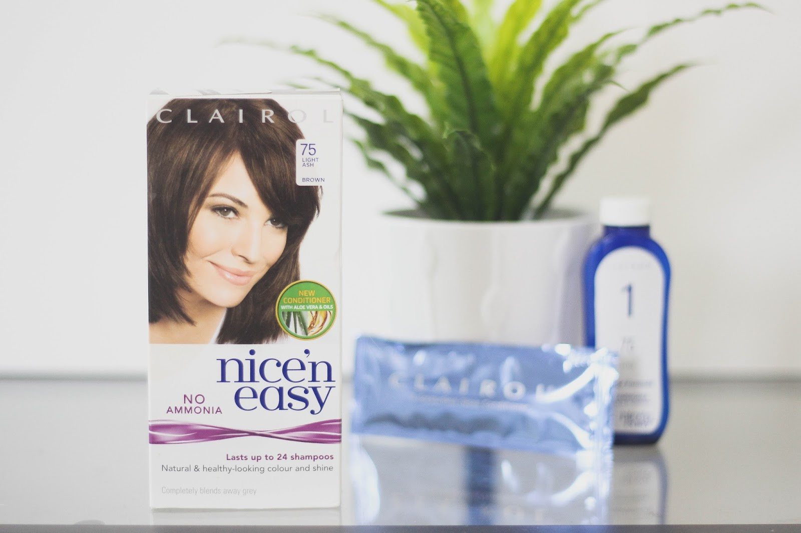 Clairol Nice n Easy Light Ash Brown
