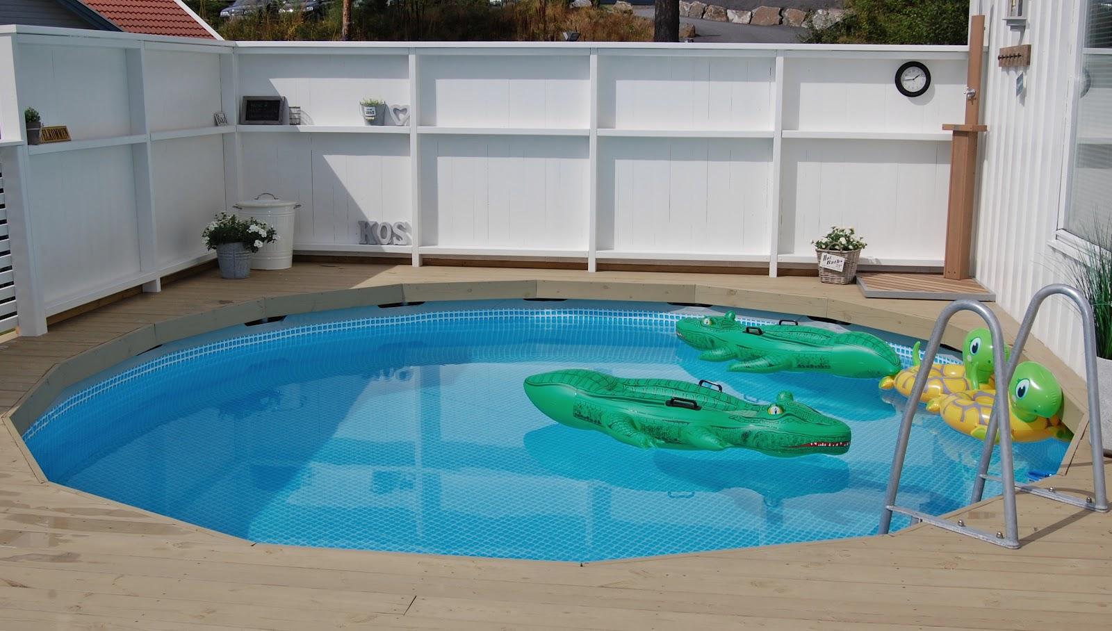 Intex basseng varmepumpe