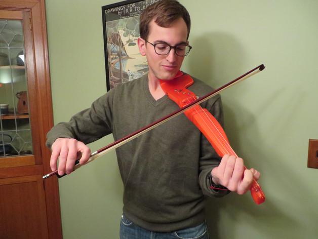 Как сделать электроскрипку своими руками