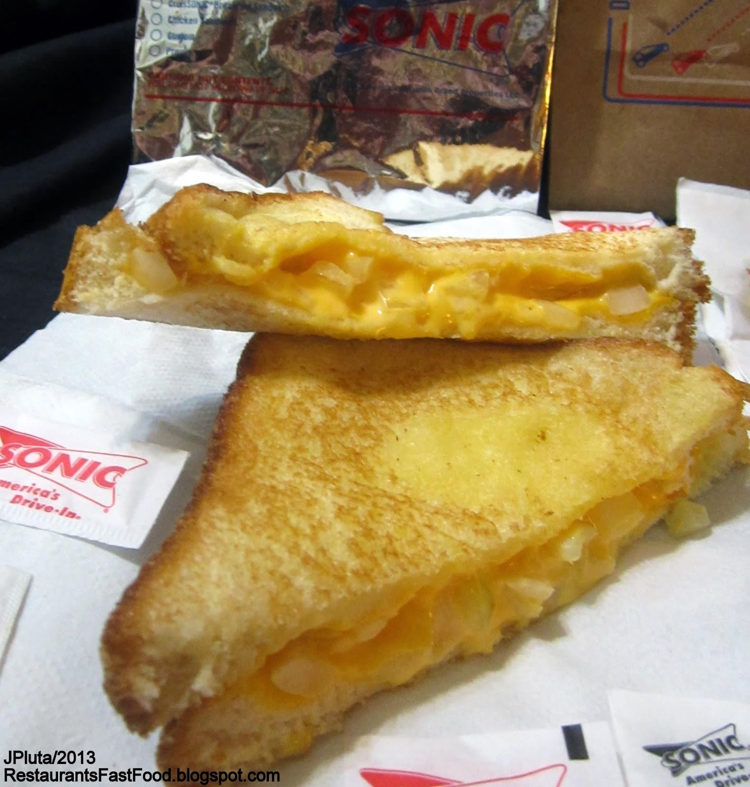 Restaurant fast food menu mcdonald 39 s dq bk hamburger pizza for Sonic fish sandwich