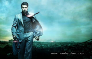 Nimirndhu Nil Jayam Ravi First Look Poster
