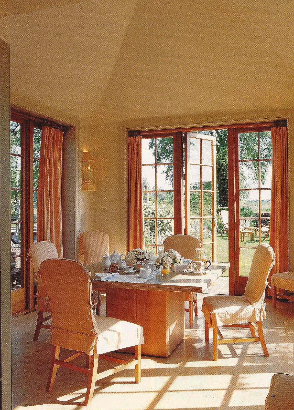 Adelaide villa the dining room for John stefanidis interior design