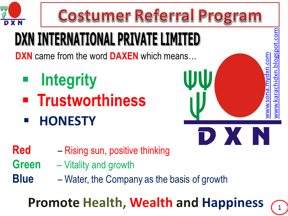 Dxn business plan