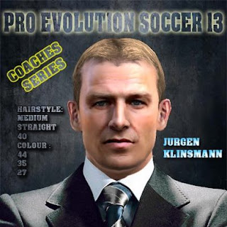 Download Face Manager Jurgen Klinsmann PES 2013