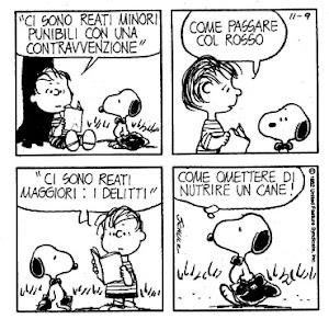 Il diritto secondo i Peanuts