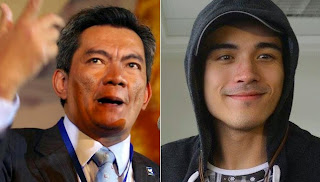 Gov. Joey Salceda and Xian Lim