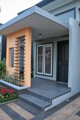 gambar jenis teras rumah minimalis
