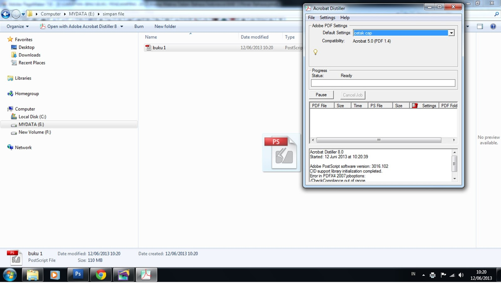 pagemaker file convert to pdf