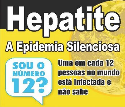 Epidemia Silenciosa - Dia Mundial da Hepatite