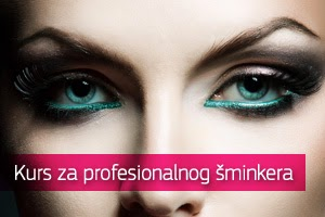 Kurs za profesionalnog šminkera