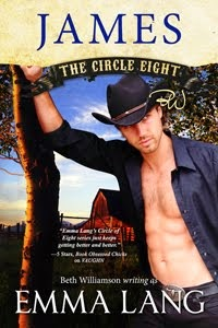 CIRCLE EIGHT: JAMES by Beth Williamson Writing as Emma Lang