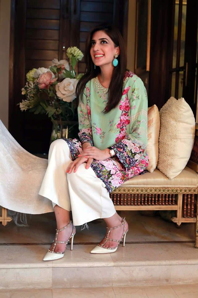 Farah Talib Aziz Silk Printed Kurtas Collection