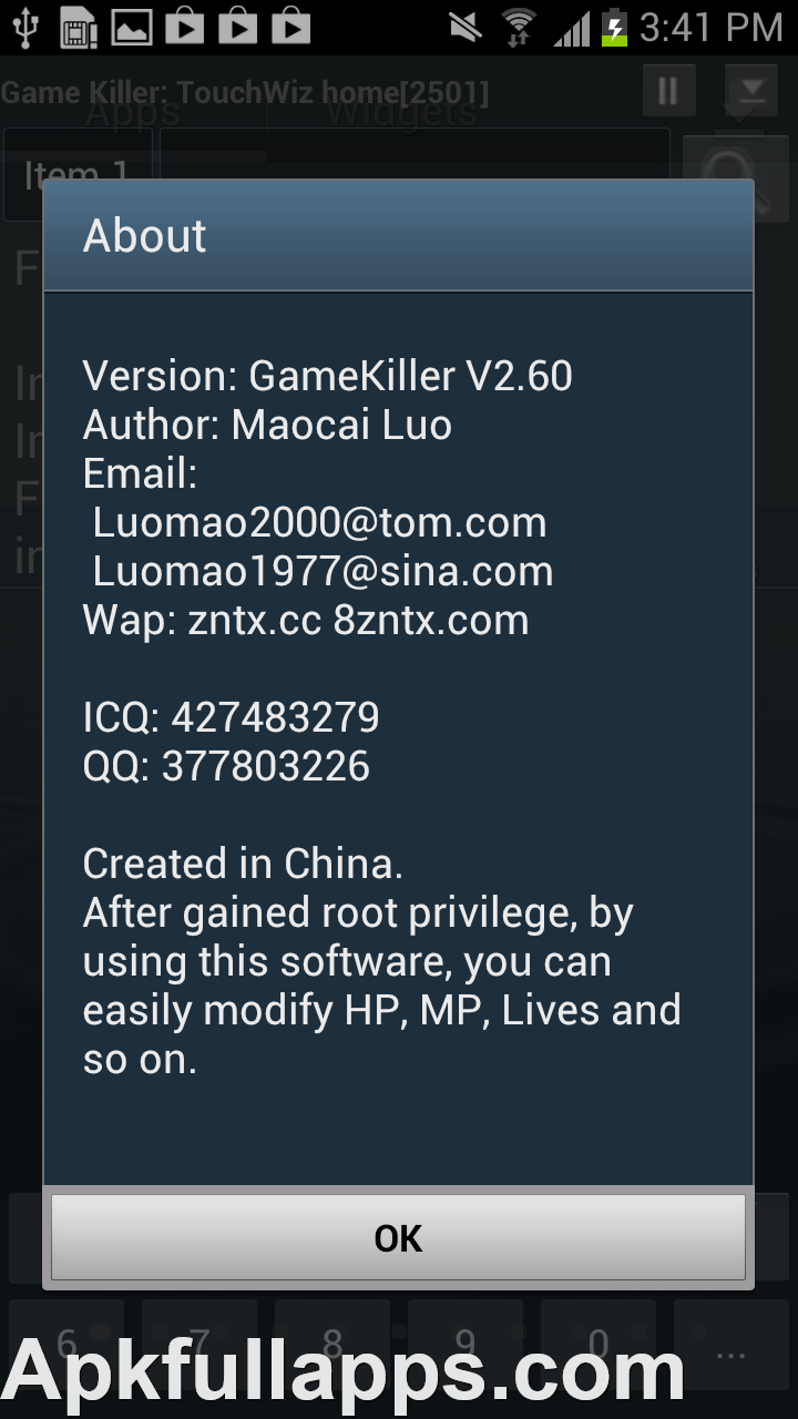 Game Killer v2.60 Patched
