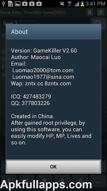 Game Killer v2.60 Patched