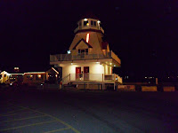 The lighthouse at the wharf