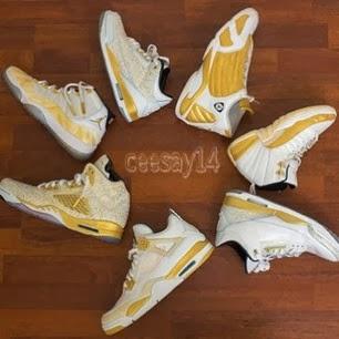 Custom Kicks Air Jordan Golden Moments Pack