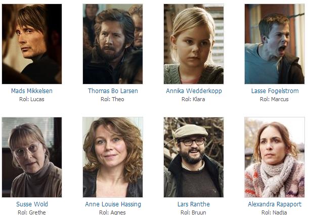 Onur Savaşi, Jagten,The Hunt cast, oyuncu