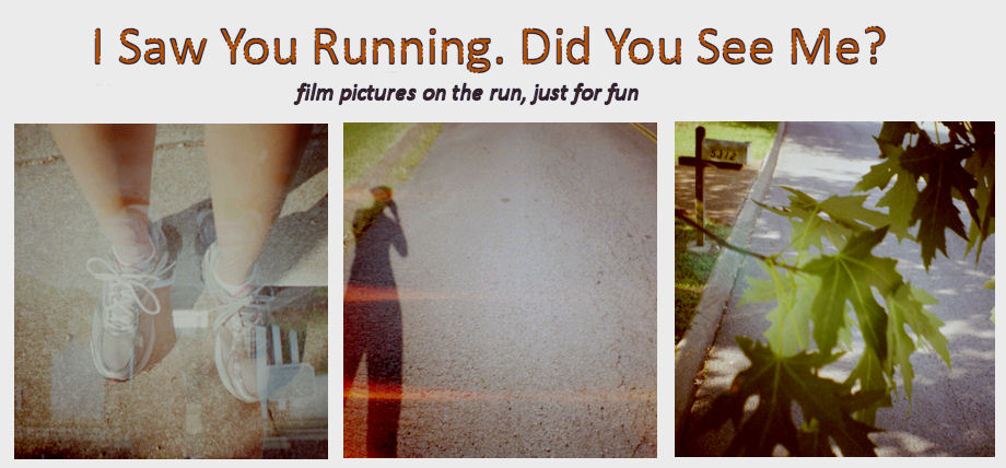 I Saw You Running, Did You See Me?