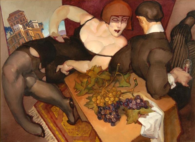 Juarez Machado 1941 - Brazilian painter | Lovers