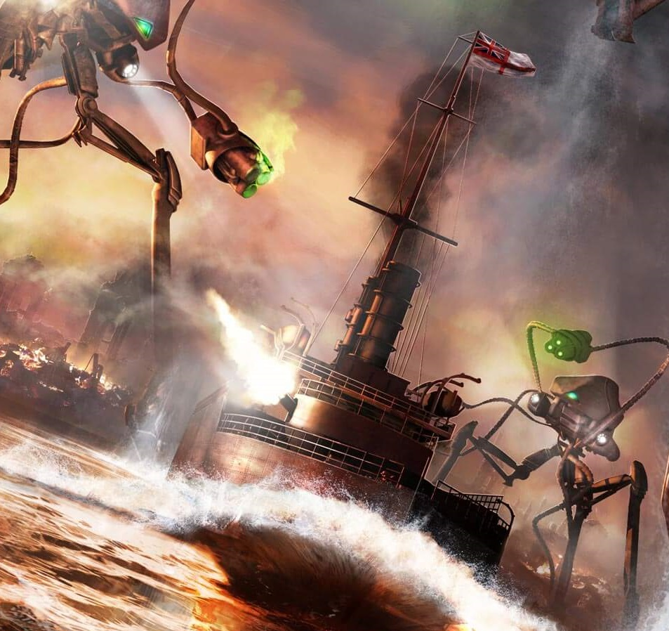 HMS Thunder Child (H.G. Wells' War of the Worlds)