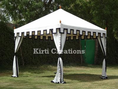 Elegant Garden Tent