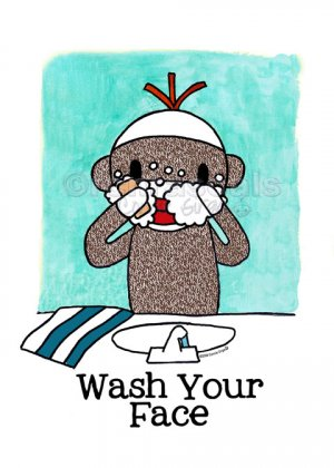 THE DAILY DUNBAR: Wash Your Face...