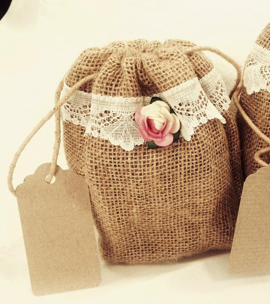 Boda en crisis bolsitas para el arroz econ micas - Bolsitas de tela de saco ...