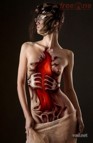 body painting ideas