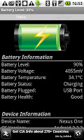 Battery-Watcher-Application-And-Widget-For-Android