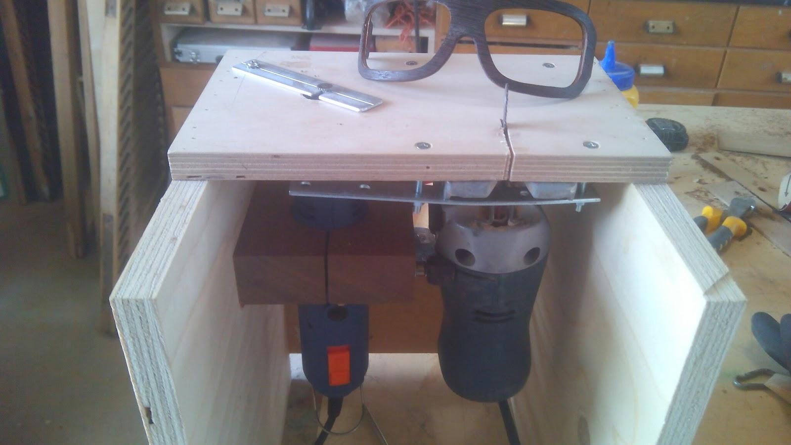 Diy progetti how to occhiali in legno auto costruiti for Banco fresa autocostruito