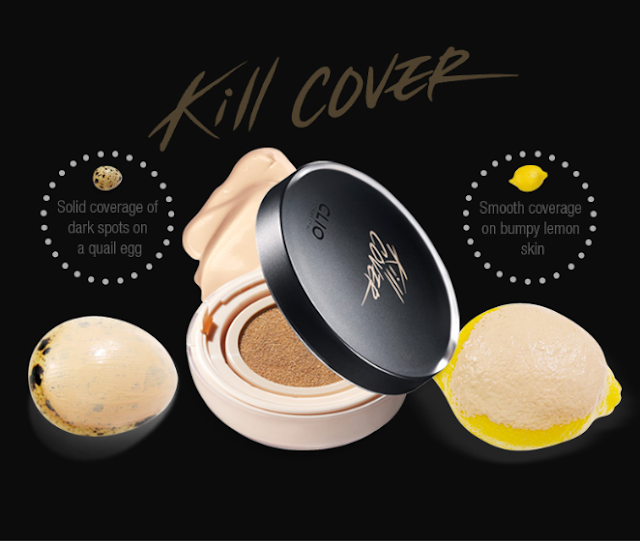 Clio Kill Cover Liquid Founwear Cushion Kit