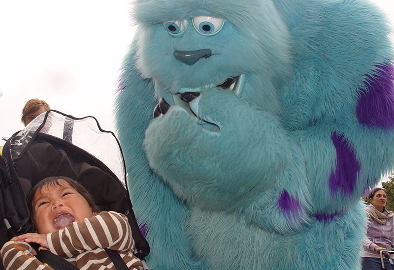 Scared by Sulley (Monsters inc), Going back to Disneyland Paris