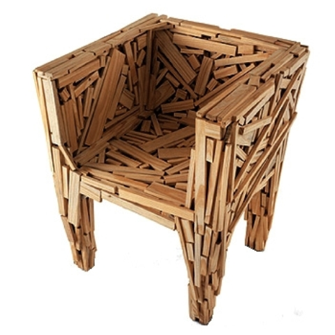 Build It Yourself!: Cool furnitures made of recycled wood