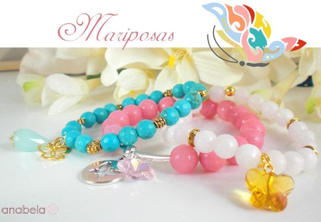 pulseras-elasticas-de-mariposas