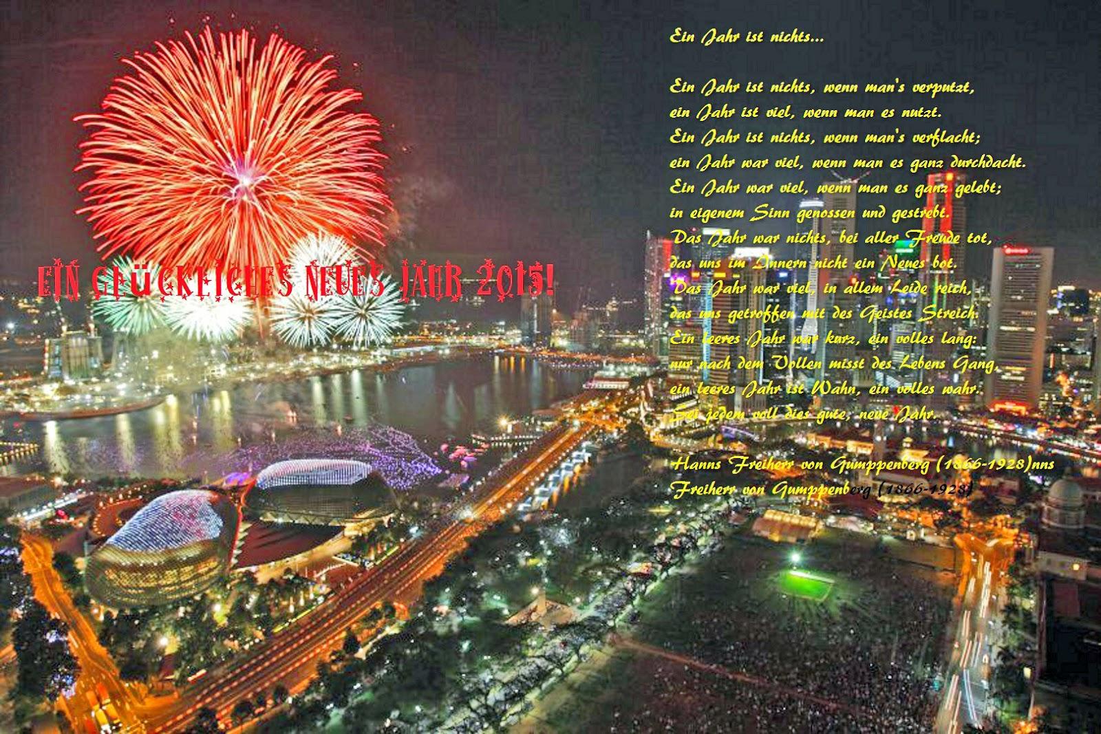 Ein glückliches Neues Jahr 2015!   Gerrys Blog
