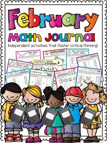 http://www.teacherspayteachers.com/Product/February-Math-Journal-Interactive-Printables-1091311