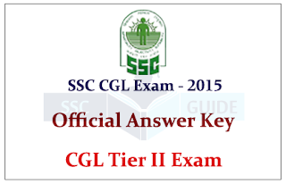 SSC CGL Tier II Official Answer Key Out