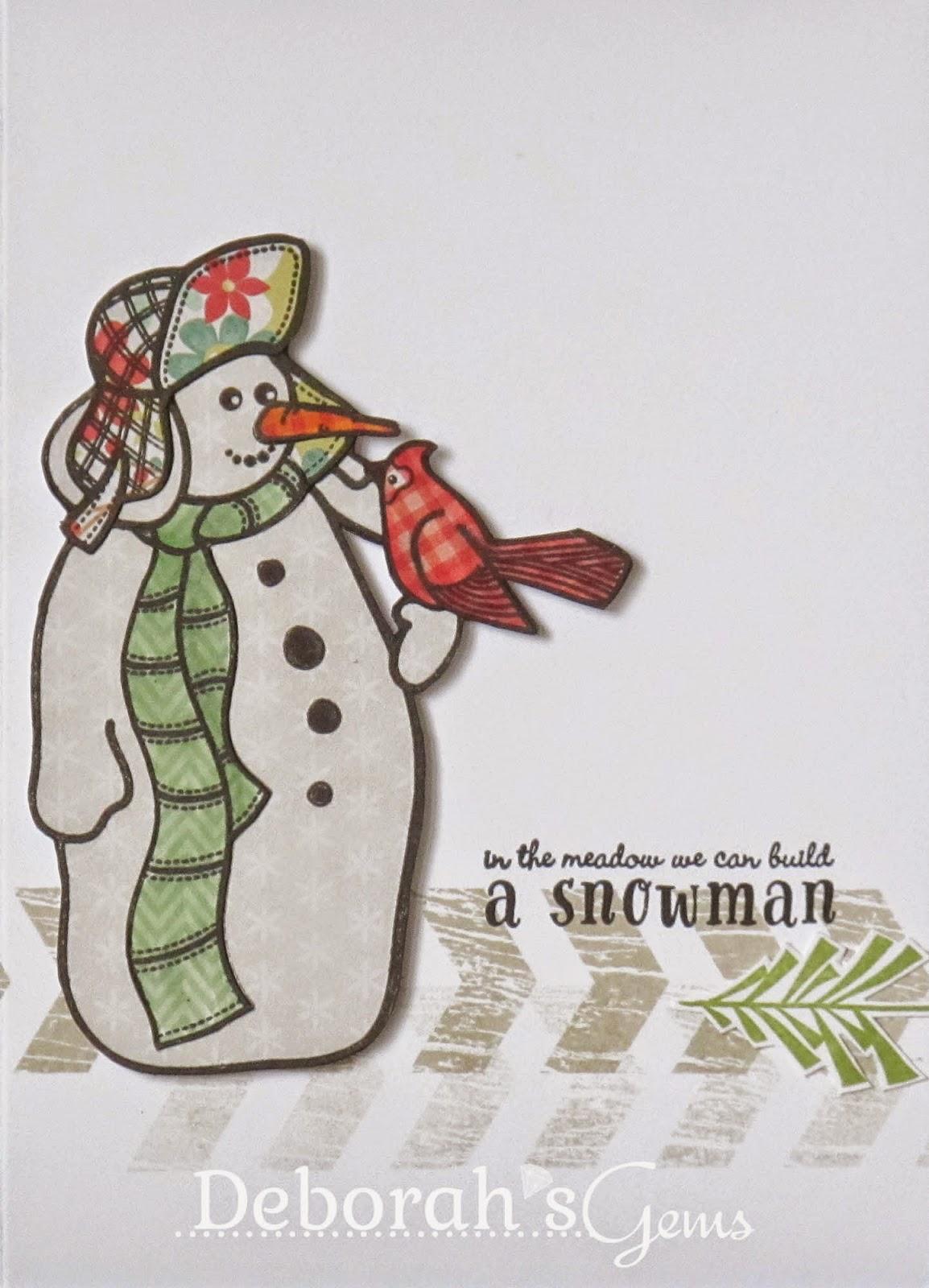A Snowman - photo by Deborah Frings - Deborah's Gems