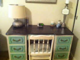 Refinished Vintage Desk