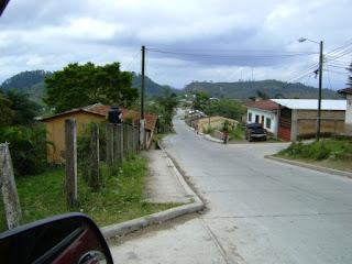 Calle de Dulce Nombre de Copán