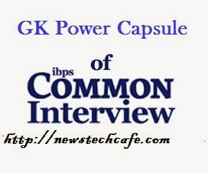 Top 10 Important IBPS bank PO 2015 GK Booster  Interview Question with Answers
