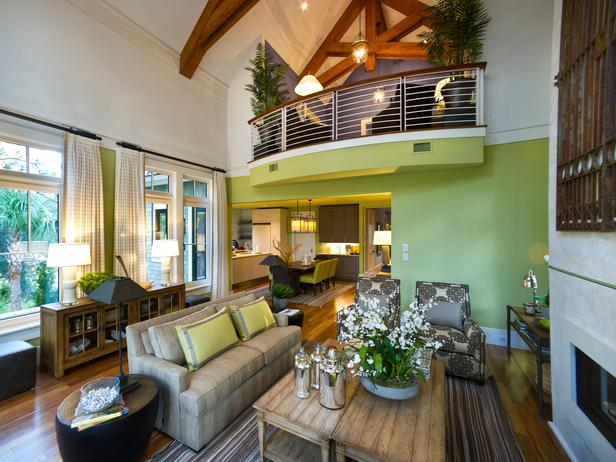 Dream Living Rooms : Modern Furniture: Living Room Pictures : HGTV Dream Home 2013