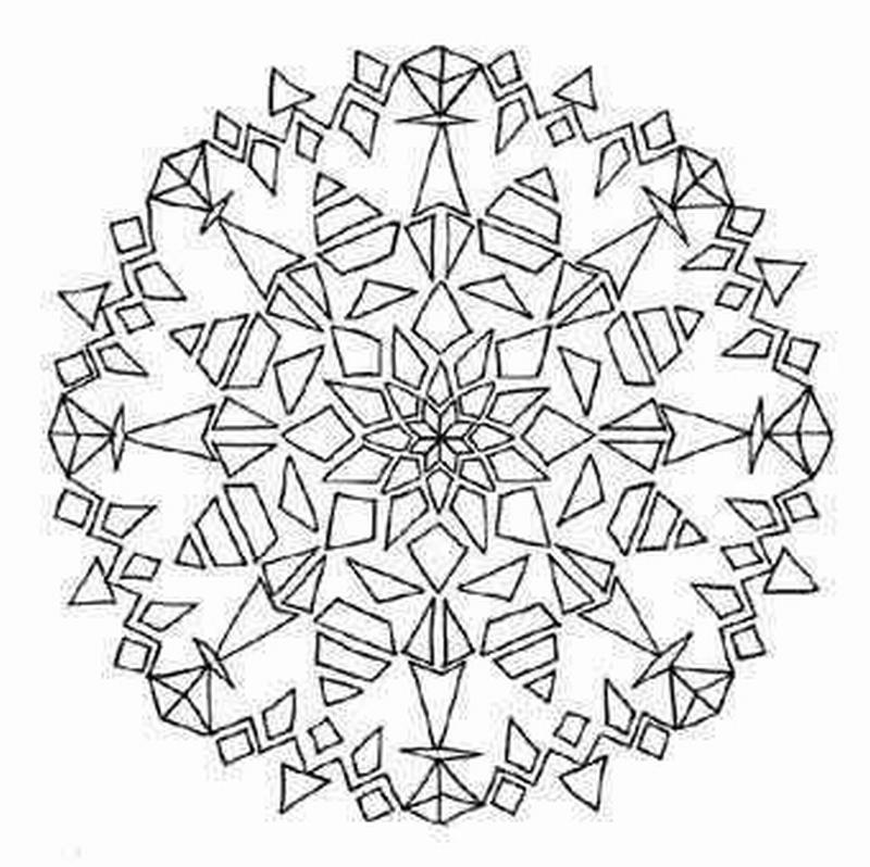KLEUREN of TANGLEN: tangelen of kleuren van mandalau0026#39;s