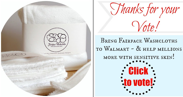 soft washcloths for Rosacea, help get to Walmart