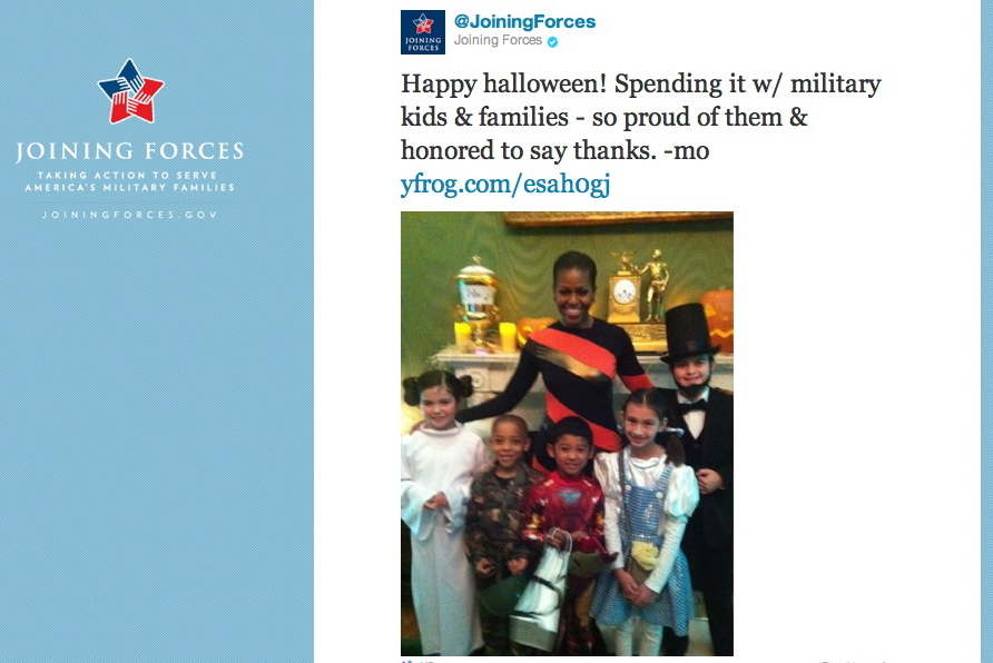 Michelle Obama Tweets About White House Halloween Party for ...