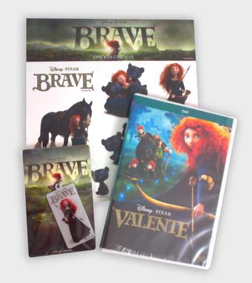 Promoção DVD Valente