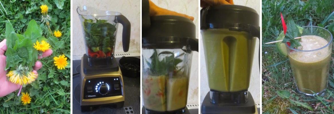Zubereitung Avocado-Gemüse-Shake